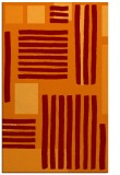 rug #1208203 |  red-orange abstract rug
