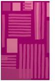 rug #1208219 |  pink stripes rug