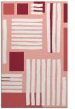 rug #1208231 |  white stripes rug