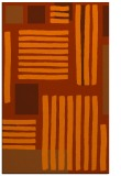 rug #1208267 |  red-orange abstract rug