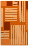 rug #1208271 |  red-orange abstract rug