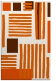 rug #1208279 |  red-orange abstract rug
