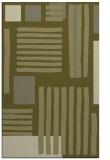 rug #1208343 |  light-green stripes rug