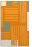 rug #1208351 |  light-orange stripes rug
