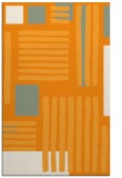 rug #1208351    light-orange abstract rug
