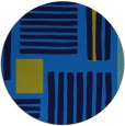 rug #1208391   round blue abstract rug