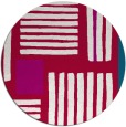 rug #1208475 | round red abstract rug