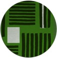 rug #1208503 | round light-green abstract rug