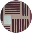 rug #1208527 | round pink abstract rug