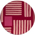 rug #1208597 | round abstract rug