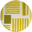 rug #1208655 | round white abstract rug