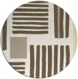 rug #1208686   round abstract rug