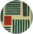 rug #1208695 | round yellow abstract rug