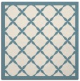 rug #120929   square white borders rug
