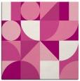 rug #1209323 | square pink circles rug
