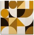 rug #1209399 | square brown geometry rug
