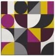 rug #1209423   square yellow circles rug