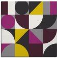 rug #1209425 | square circles rug