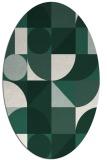 rug #1209599 | oval rug
