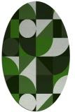 rug #1209608   oval abstract rug