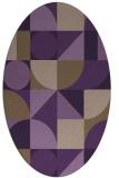 rug #1209715 | oval circles rug