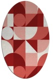 rug #1209731   oval red circles rug
