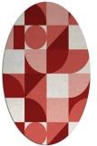rug #1209732   oval abstract rug