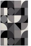 rug #1209835 |  black geometry rug