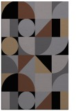 rug #1209839 |  black retro rug