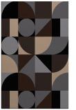 rug #1209843 |  beige graphic rug