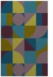 rug #1209907 |  green circles rug