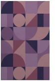 rug #1209927 |  blue-violet popular rug