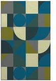 rug #1209963    green circles rug