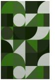 rug #1209975 |  green circles rug