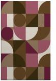 rug #1209991    beige circles rug