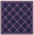 rug #121001 | square purple traditional rug