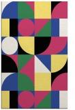 rug #1210035 |  black graphic rug
