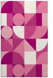 rug #1210059 |  pink circles rug