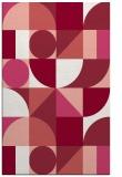 rug #1210071 |  pink abstract rug