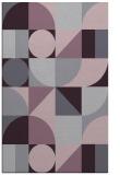 rug #1210087 |  purple abstract rug