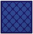 rug #121009 | square blue-violet borders rug