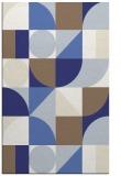 rug #1210131    blue circles rug