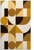 rug #1210135 |  brown circles rug
