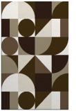rug #1210147 |  white abstract rug