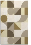 rug #1210155 |  yellow circles rug