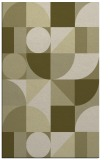 rug #1210175 |  light-green abstract rug