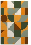 rug #1210191 |  light-orange circles rug