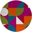 rug #1210322 | round circles rug