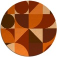 rug #1210480   round graphic rug