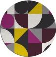 rug #1210529 | round geometry rug